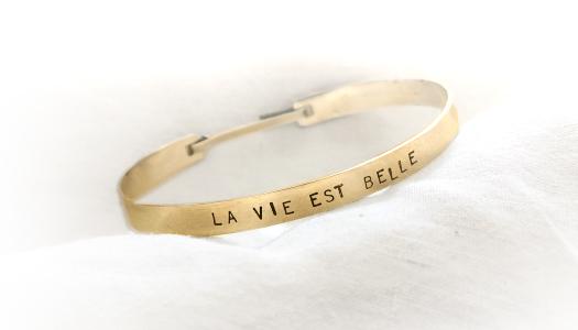 Je fabrique mon bracelet personnalisé