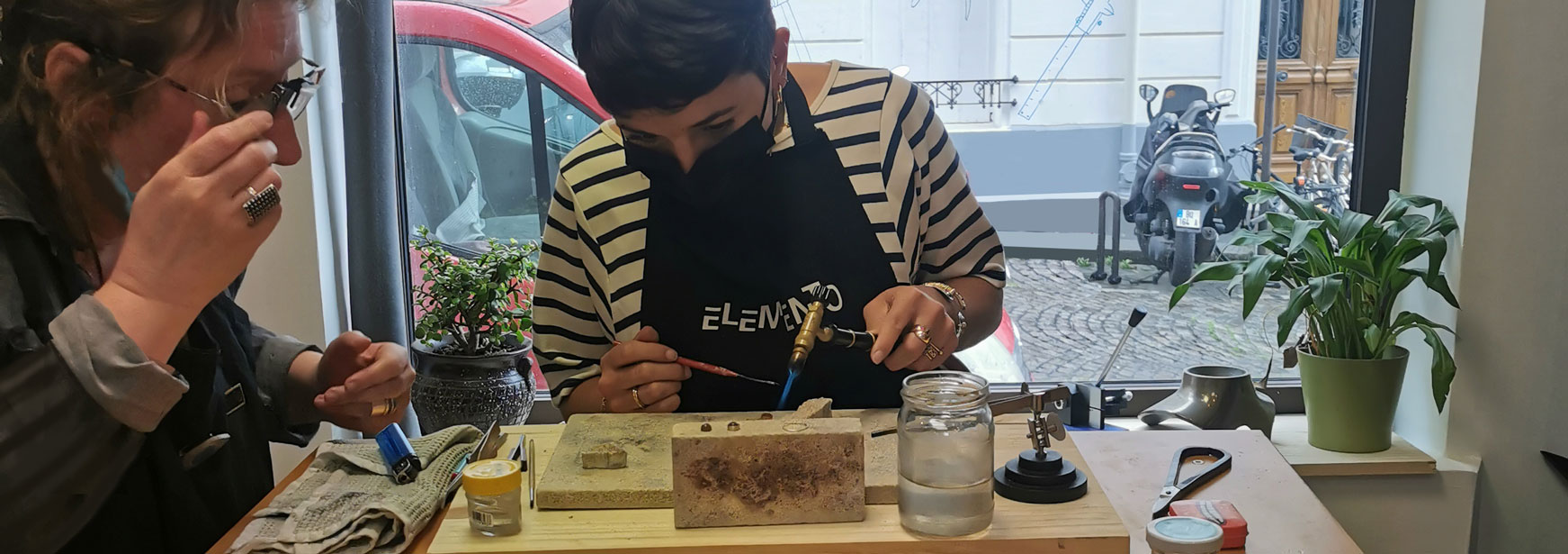 cours bijoux atelier elemento